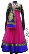 Meena Bazaar Anarkali Winter Collection 2013 For Women 005