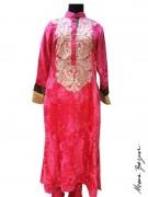 Meena Bazaar Anarkali Winter Collection 2013 For Women 008