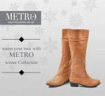Metro Winter Footwear Collection 2013 For Women 0010