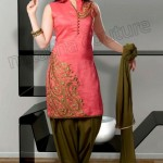 Natasha Couture Regal Winter Collection 2013 For Women 0014