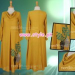 Needle Impressions Party Wear Dresses 2013 For Girls 006