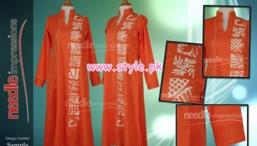 Needle Impressions Winter Dresses For Women 2013 013