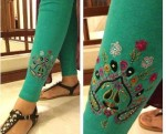 Pareesa Embroidered Tights Winter Collection 2013 For Women 0012