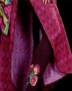 Pareesa Embroidered Tights Winter Collection 2013 For Women 007
