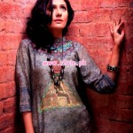 Resham Ghar Kurti Collection 2013 For Winter 001