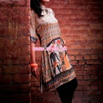 Resham Ghar Kurti Collection 2013 For Winter 004