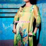 Resham Ghar Kurti Collection 2013 For Winter 007