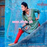 Resham Ghar Kurti Collection 2013 For Winter 008