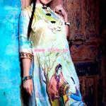 Resham Ghar Winter Digital Printed Tunics 2013 014