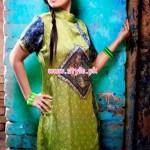 Resham Ghar Winter Digital Printed Tunics 2013 021