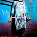 Resham Ghar Winter Digital Printed Tunics 2013 022