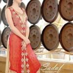 Sadaf Dziner Studio Winter Dresses 2013 For Women 003