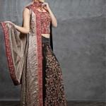 Sadaf Dziner Studio Winter Dresses 2013 For Women 005