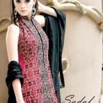 Sadaf Dziner Studio Winter Dresses 2013 For Women 006