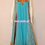 Vasim Asghar Party Dresses 2013 For Women 002