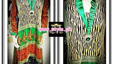 Vibgyor by Syra Party Wear Dresses 2013 For Girls 007