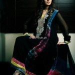 Wajahat Mansoor New Party Wear Dresses 2013 for Ladies 003