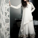 Wajahat Mansoor New Party Wear Dresses 2013 for Ladies 005