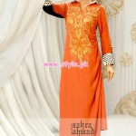 Zahra Ahmad Party Wear 2013 Collection 001