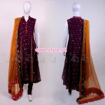 Zonia Anwaar Winter Party Dresses 2013 006