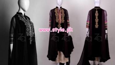 Zonia Anwaar Winter Party Dresses 2013 009