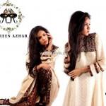Ambreen Azhar Party Wear Dresses 2013 for Girls 005