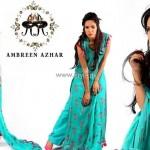 Ambreen Azhar Party Wear Dresses 2013 for Girls 008