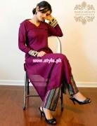 Badiya Nighat's Exclusive Casual Dresses 2013 For Women 001