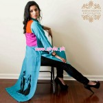 Badiya Nighat's Exclusive Casual Dresses 2013 For Women 002