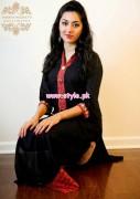 Badiya Nighat's Exclusive Casual Dresses 2013 For Women 004