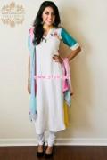 Badiya Nighat's Exclusive Casual Dresses 2013 For Women 009