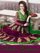 Brides Galleria Anarkali Frocks Collection 2013 For Women 0010