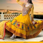 Brides Galleria Anarkali Frocks Collection 2013 For Women 0011