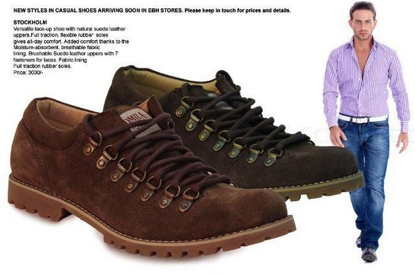 EBH Winter Footwear Collection 2013 For Men