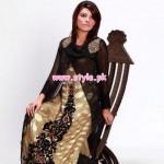 Gohar'z Aspiration Party Dresses 2013 For Women 001
