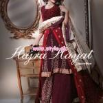Hajra Hayat Latest Bridal Wear Collection 2013 002