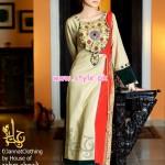 Jannat Nazir Art Wear Dresses 2013 For Summer 003