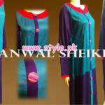 Kanwal Sheikh Party Wear Collection For Women 2013 004