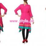 Kolaj Winter Casual Dresses For Women 2013 004