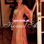 Komal Ali Party Wear Collection 2013 For Women 006