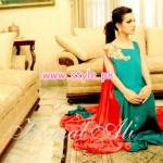 Komal Ali Party Wear Collection 2013 For Women 008