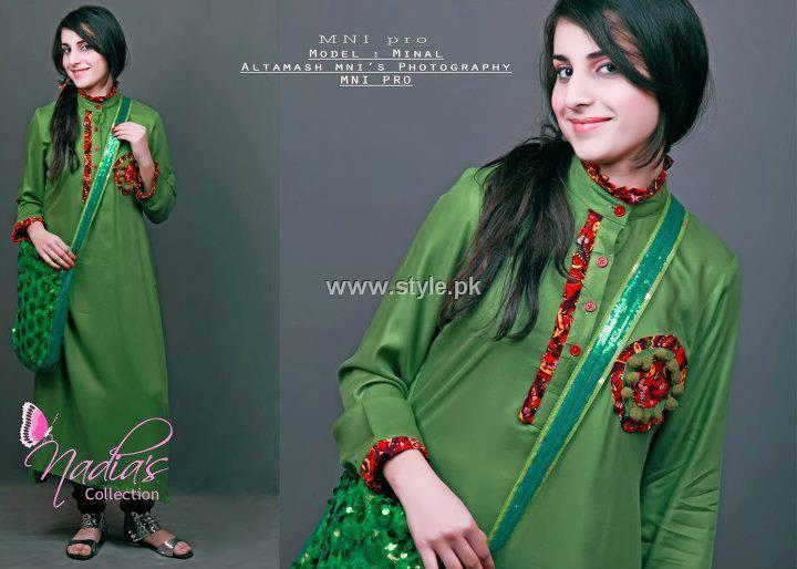 Nadia's Collection Casual Wear Dresses 2013 for Girls