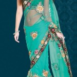 Nakshatra Designerwear Sarees Collection 2013 For Women  001