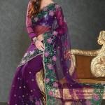 Nakshatra Designerwear Sarees Collection 2013 For Women  0014
