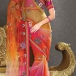 Nakshatra Designerwear Sarees Collection 2013 For Women  002