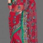 Nakshatra Designerwear Sarees Collection 2013 For Women  005