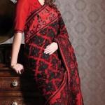 Nakshatra Designerwear Sarees Collection 2013 For Women  006