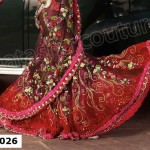 Natasha Couture Lehenga Sarees Winter Collection 2013 For Women 0012