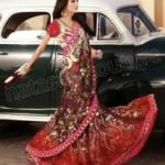 Natasha Couture Lehenga Sarees Winter Collection 2013 For Women 005