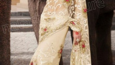 Natasha Couture Lehenga Sarees Winter Collection 2013 For Women 008